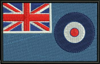 RAF embroidered badge